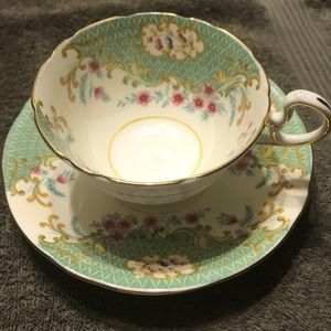 Vintage Aynsley Teacup and Saucer
